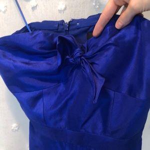 NWT J.CREW Silk Tiered Ruffle Colorblock Dress
